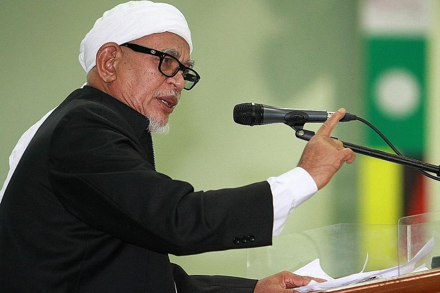 Non-Muslim leaders say Mr Abdul Hadi Awang's views are against the Malaysian Constitution, in which the roughly 38 per cent non-Muslim minority - in a country of 32 million people - are guaranteed a voice in policymaking.