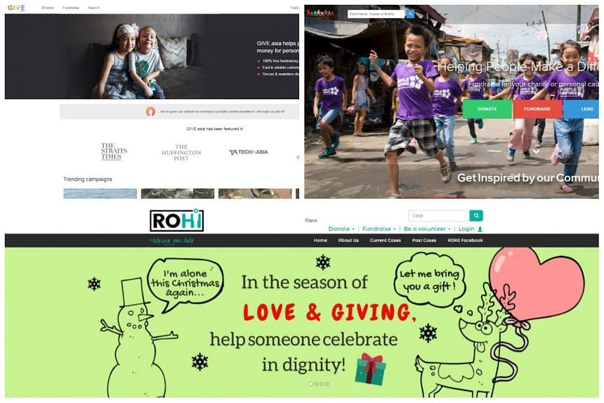Websites such as Give.Asia, Simply Giving, and Ray of Hope Initiative will be required to verify the legitimacy of the fund-raising appeal, and state clearly the service fee or cut they are taking from the amount raised, among other things.