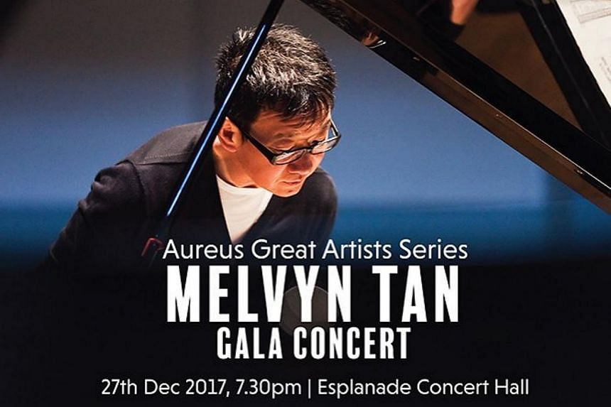 Singapore-born British pianist Melvyn Tan was the first performer of the Aureus Great Artist Series.
