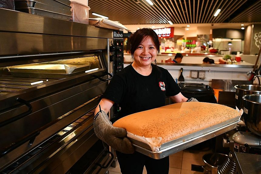 Ms Serene Ang did not like her auditing job, so she ventured into the F&B business.