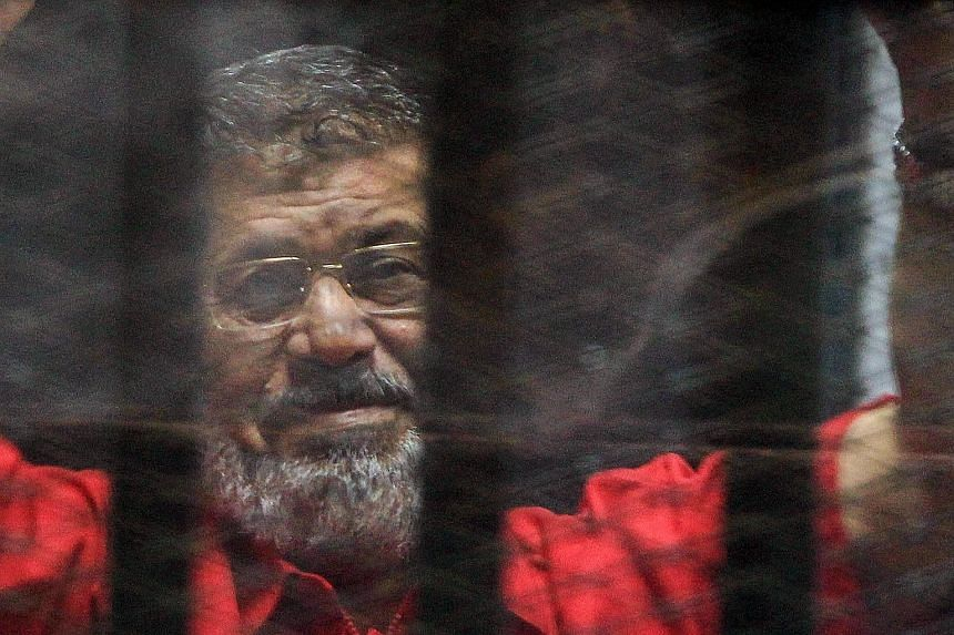 Mohamed Mursi, already sentenced to a total of 45 years in two earlier trials, has just received another jail term of three years.