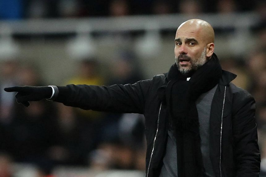 Pep Guardiola has expressed concern that Manchester City could stumble significantly in the New Year as they chase success in four competitions.