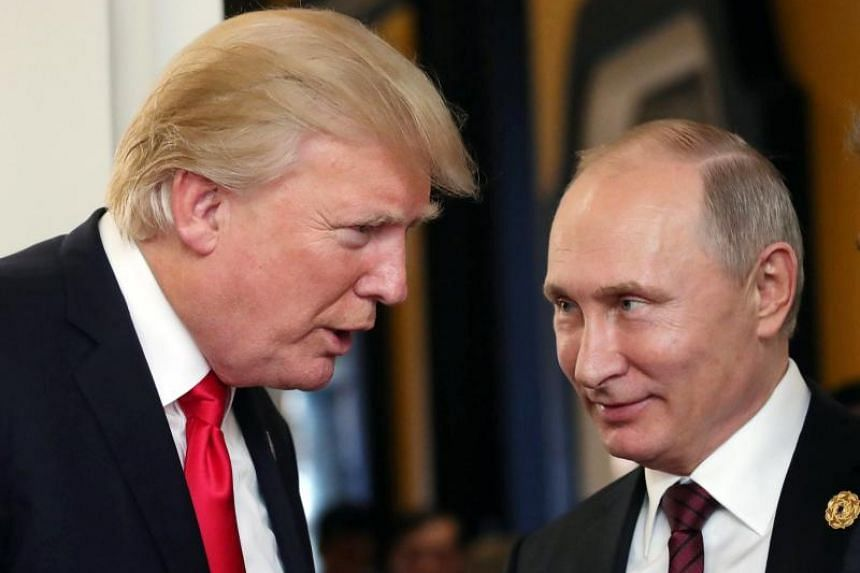 """In a statement on the Russian president's New Year wishes to world leaders, the Kremlin said Putin told Trump that """"a constructive Russian-American dialogue is especially needed to strengthen strategic stability in the world""""."""