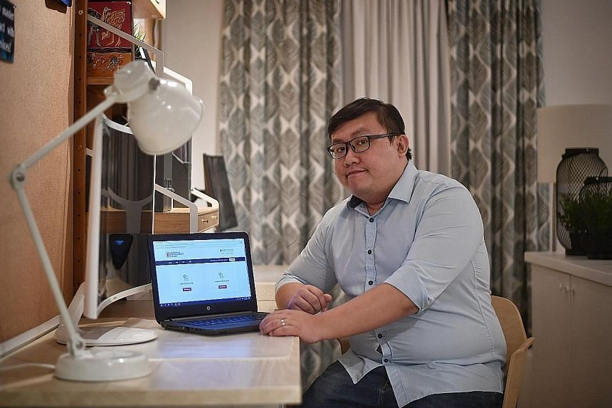 DBS customer service officer Xavier Chia, who got his Build-To-Order flat in 2016 and participated in the final testing of the new HDB resale portal, said he liked that the site filters out who is eligible to buy or sell. The portal can be found on t