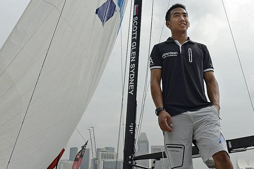 Justin Wong will be back for unfinished business in the Sydney to Hobart race this year and will also compete in a regatta across the Atlantic.