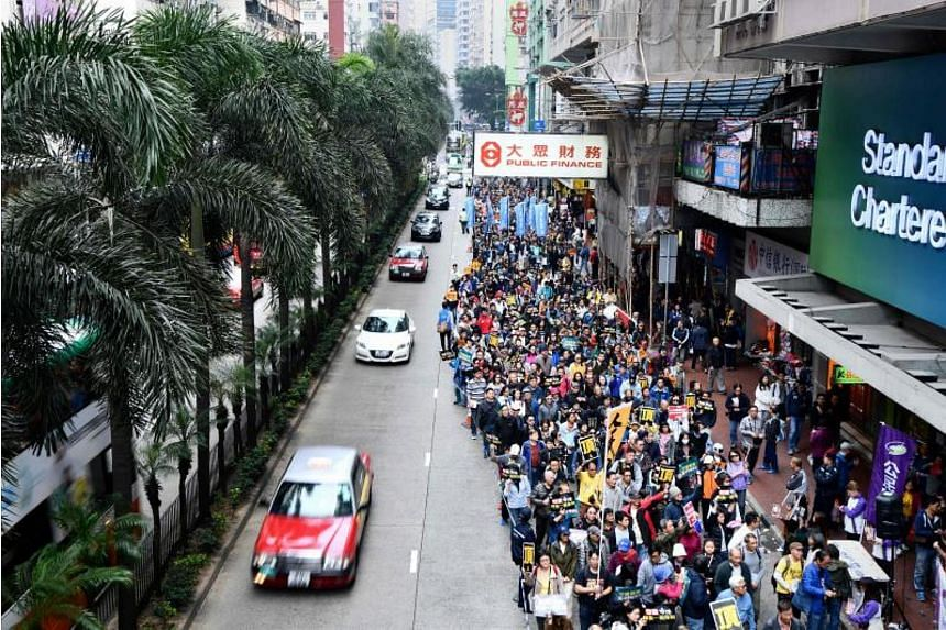A string of recent incidents have fuelled concern over the erosion of Hong Kong's autonomy and rule of law.