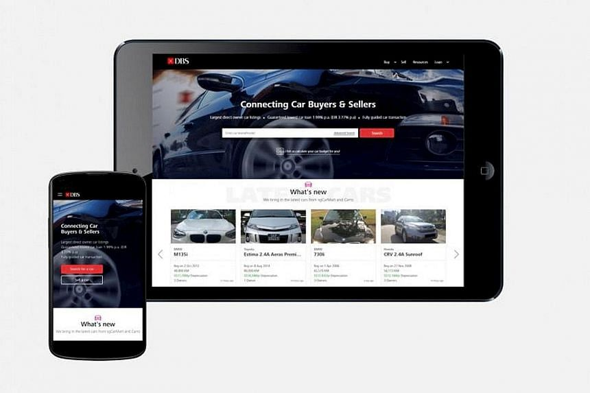Banks here have made their moves. DBS launched an online marketplace for cars by working with sgCarMart and Carro - becoming in effect the largest direct seller-to-buyer car marketplace in Singapore. OCBC also tied up with telco player StarHub to har