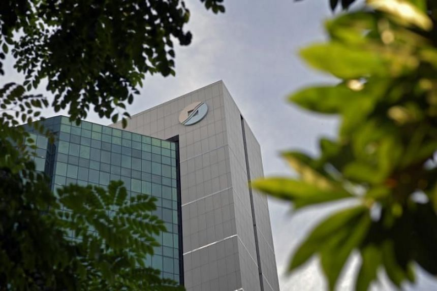 The Inland Revenue Authority of Singapore (IRAS) building.
