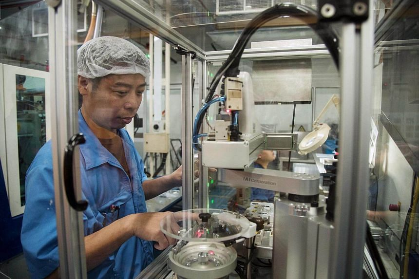 The Singapore economy was lifted once again by robust manufacturing growth.