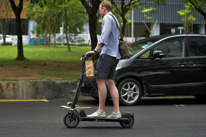 From Jan 15, the current $100 fine for using PMDs such as electric scooters on roads will go up, with the addition of a tiered penalty system based on the type of roads on which users ride them.