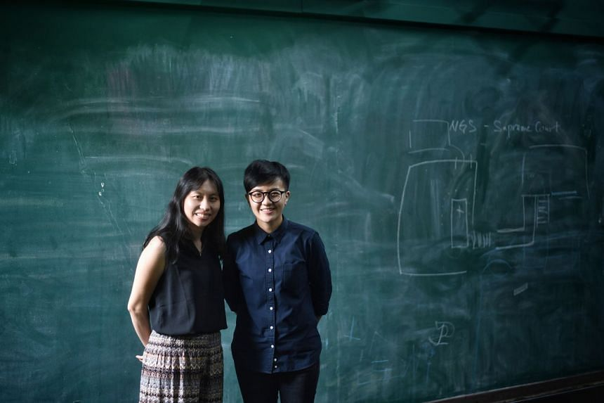 Drama Box resident artist Han Xuemei (right) worked with playwright Jean Tay (left), sound artist Darren Ng and theatre-maker Neo Hai Bin to develop Missing: The City Of Lost Things.