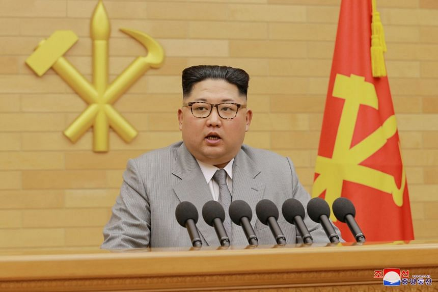 North Korea's leader Kim Jong Un has ordered a border hotline with South Korea opened on Jan 3, 2017 for talks.