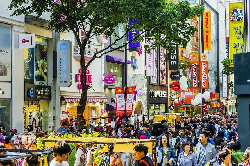 Image result for myeongdong