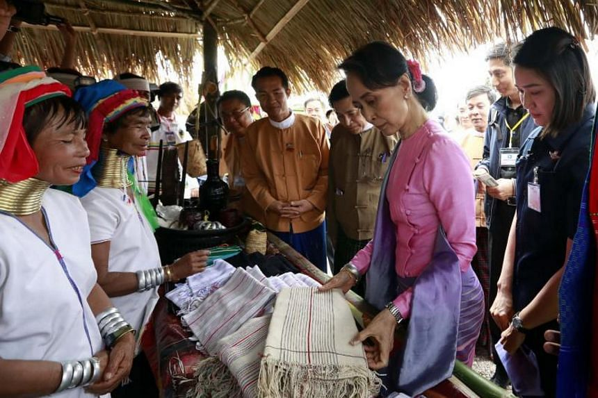 Myanmar is raising the minimum wage to a new daily figure of 4,800 kyats (S$4.80).