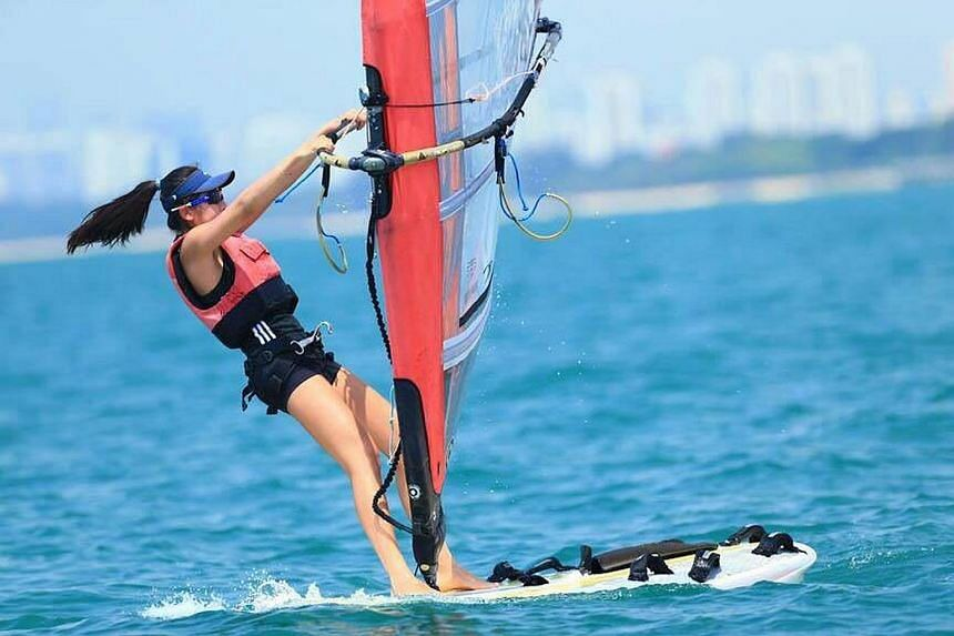National sailor Amanda Ng is the first recipient of the Deloitte Singapore Scholarship, which is valued at $20,000.