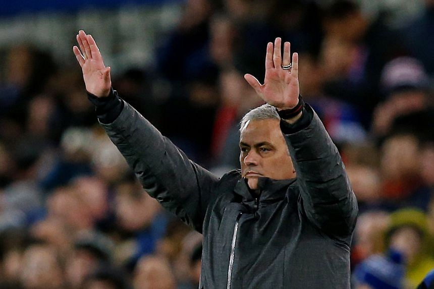 "Mourinho (above) has dismissed the reports as ""garbage""."