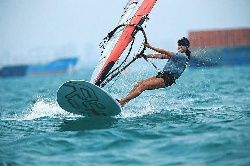National windsurfer Amanda Ng recently became the first recipient of the Deloitte Singapore Scholarship, which will support her training and competition needs to the tune of $20,000. Ng, who competed as a sailor at the Rio Olympics, will also become