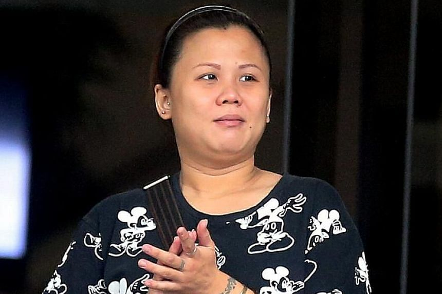 Pang Shi Luan was diagnosed as having an adjustment disorder. She was sentenced yesterday to a nine-month mandatory treatment order, which means that in lieu of jail time, she has to undergo treatment for her mental condition.