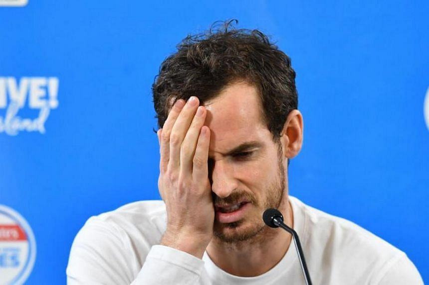 Former world No. 1 Andy Murray said in a statement that he's not yet ready to compete.