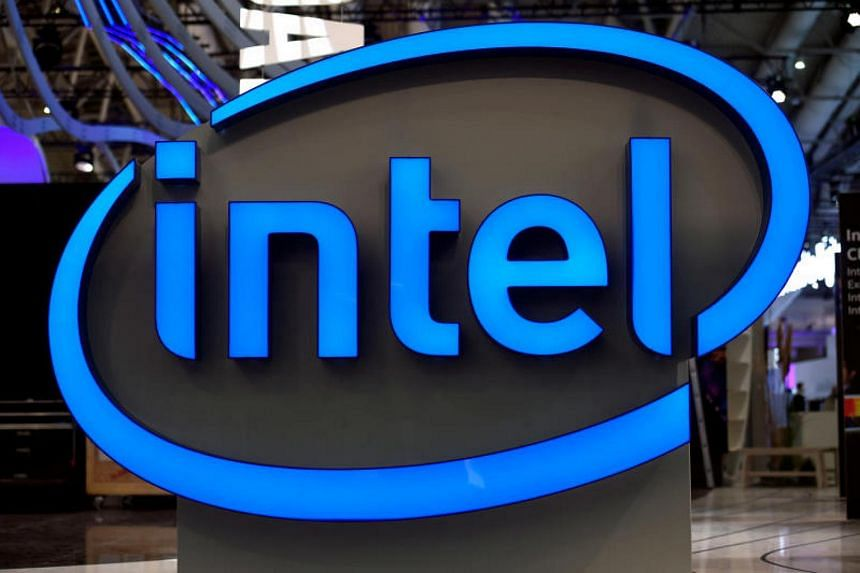 Intel shares fell 3.4 per cent after news broke of security flaws in microprocessors made by the company.