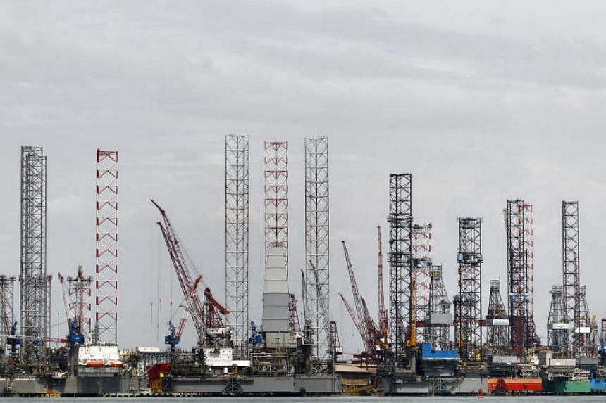 Jurong Shipyard (pictured) was fined $230,000 over an accident that left two workers dead in 2011.