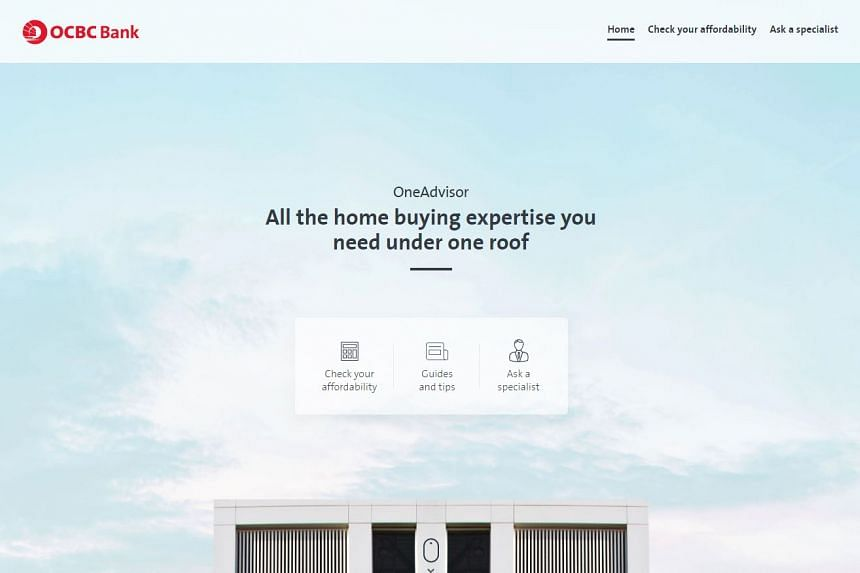 OCBC Bank is the first bank in Singapore to launch an online, one-stop portal with information for potential home buyers.