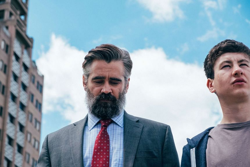Colin Farrell (left) and Barry Keoghan star in The Killing Of A Sacred Deer.