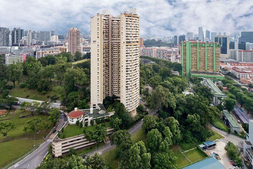 Pearlbank Apartments is among several residential developments that were put up for collective sale in 2017. Although developers' bullish land bids have led to perceived over-exuberance in the en-bloc market, some observers see initial signs that the
