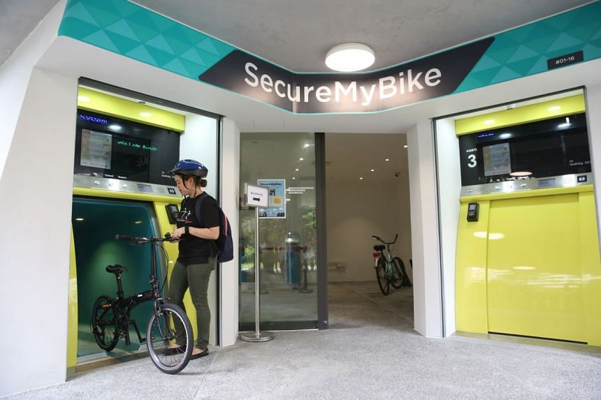 Called SecureMyBike, the system, located within the Kampung Admiralty integrated development next to Admiralty MRT station, can house more than 500 bicycles.