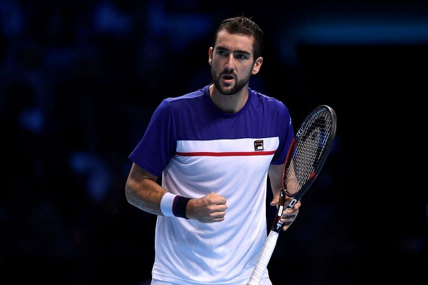 Cilic (above, in a file photo) despatched Frenchman Pierre-Hugues Herbert 6-3, 6-2.