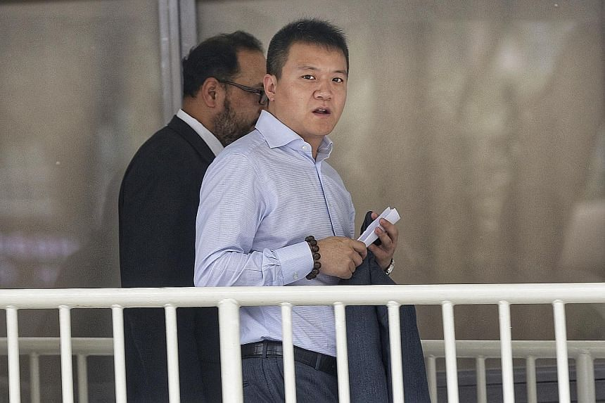 Australian businessman Wayne Liang admitted to using criminal force on a police officer at the Ultra Music Festival in 2016.