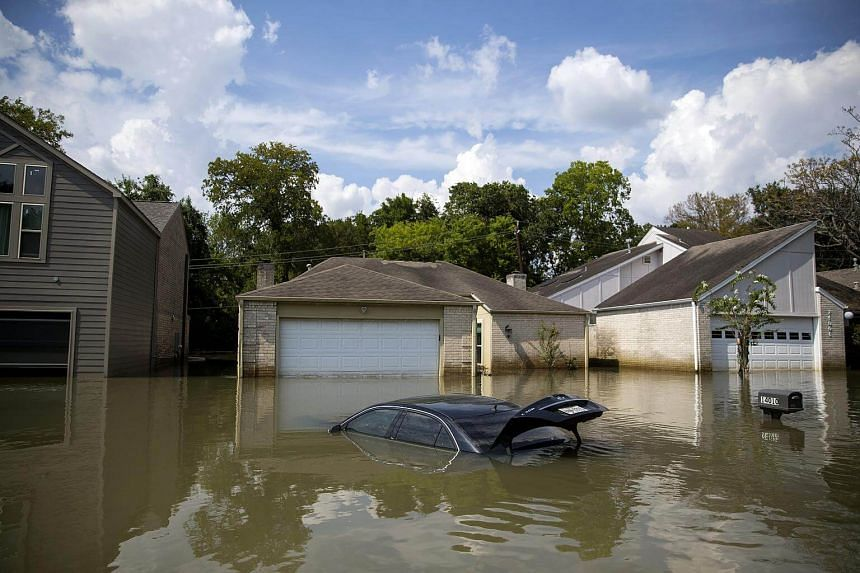 Hurricane Harvey, which made landfall in Texas in August, was the most costly natural disaster of 2017, causing losses of US$85 billion (S$113 billion).