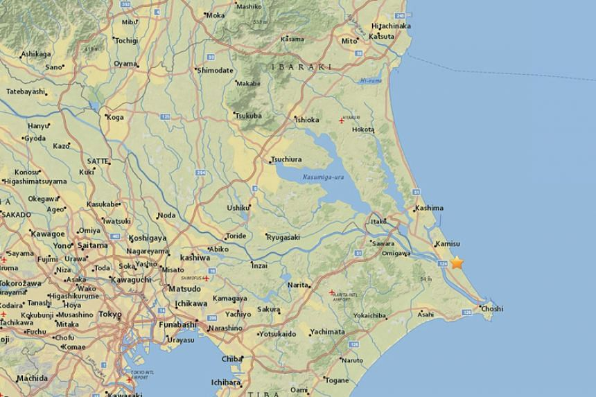 A 4.4-magnitude quake struck off Japan's Ibaraki prefecture on Jan 5. Nearly simultaneously, a 3.9-magnitude tremor hit Toyama prefecture, some 350km west of the one off Ibaraki.