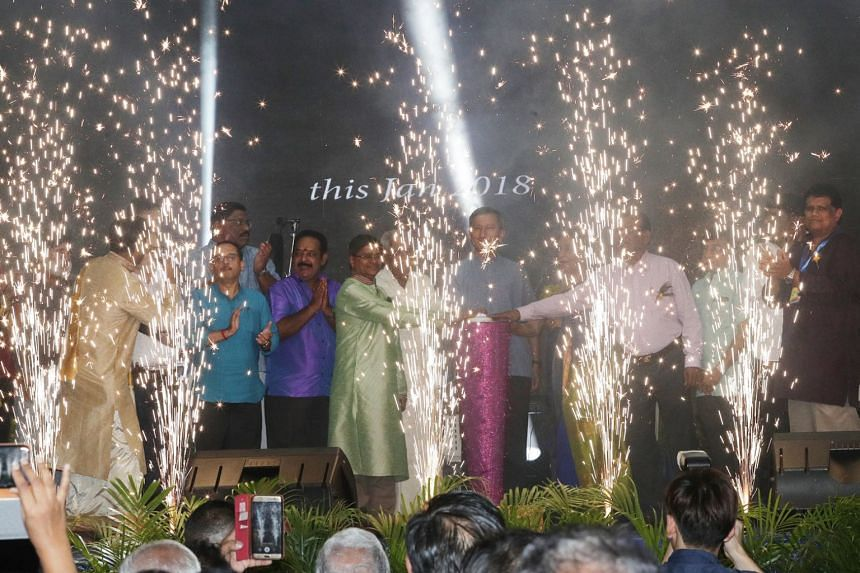 The light-up ceremony for this year's Pongal at Campbell Lane was officiated by Minister for Foreign Affairs, Dr Vivian Balakrishnan.