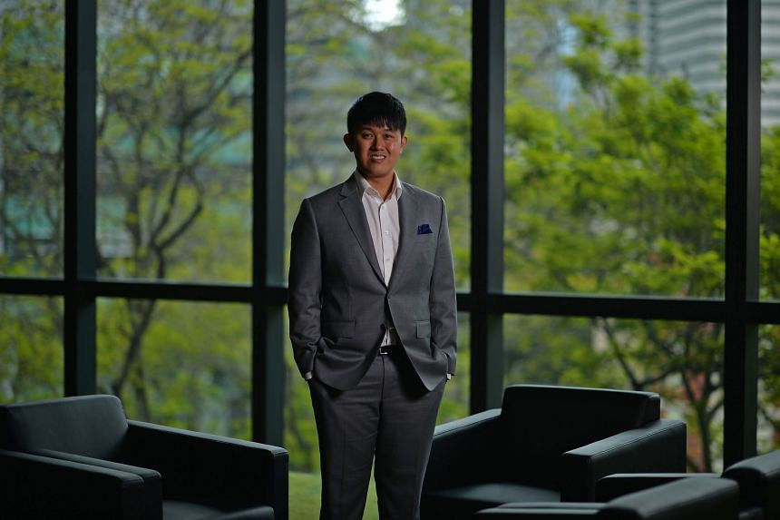 Mr Keeve Tan says the SMU MBA course is mentally strenuous and physically draining, but is rewarding.