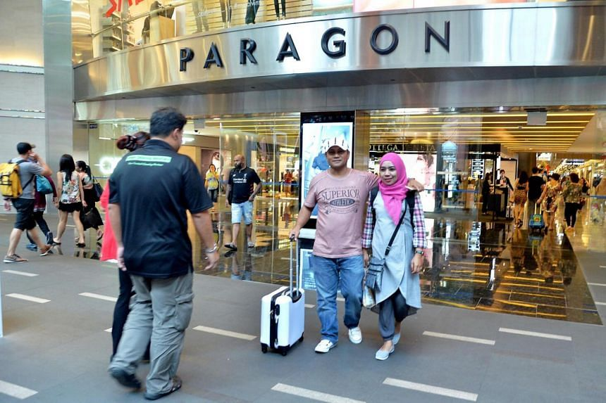 SPH Reit owns two malls - Paragon in Orchard (above) and The Clementi Mall in Clementi. Both properties continued their track record of full occupancy despite headwinds in the retail sector.