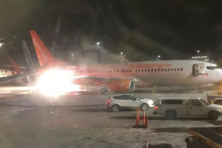 Planes from Sunwing Airlines and WestJet Airlines were involved in the collision at Toronto's Pearson Airport.