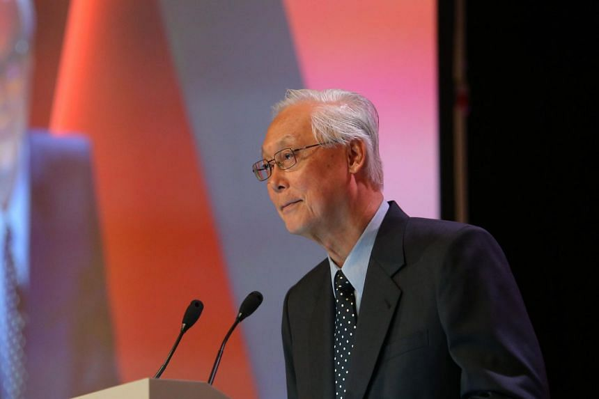 """Emeritus Senior Minister Goh Chok Tong, on a Facebook post, highlighted the """"urgent challenge"""" of choosing Singapore's next leader and said he hoped the current cohort would do so in six to nine months."""