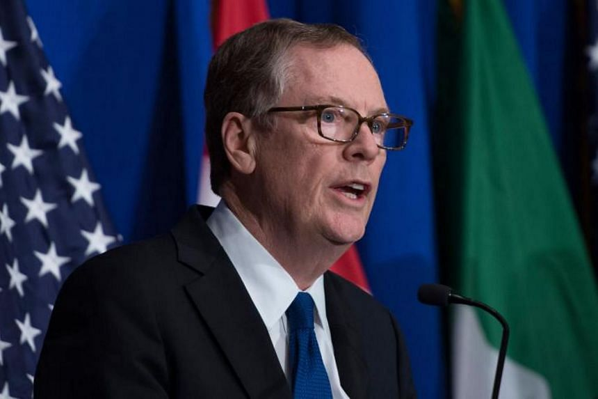 """Our goals are clear: we must achieve fair and reciprocal trade between our two nations,"" US Trade Representative Robert Lighthizer said in a statement."