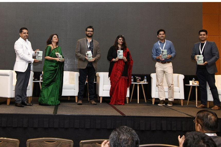 Author Siddharth Dasgupta (third from left) said he has the tendency to stick to writing about places he has been to before.