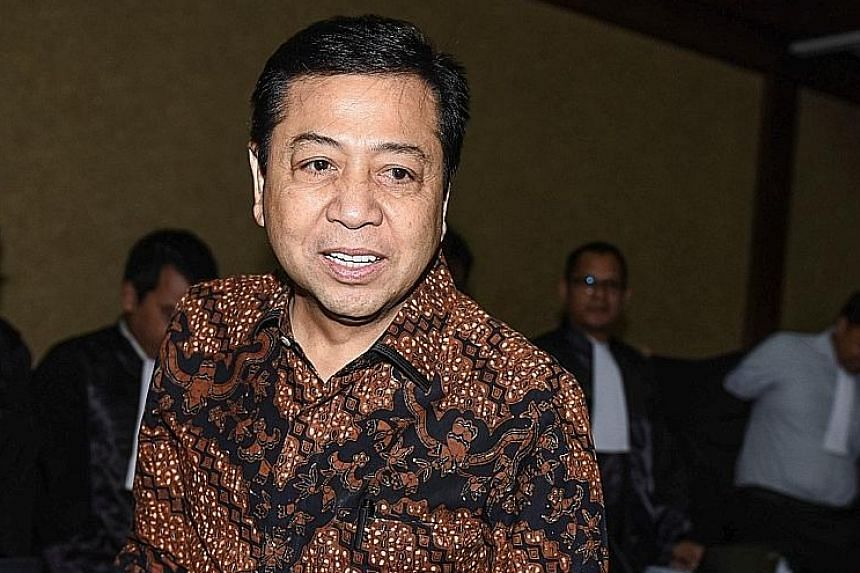 Former Speaker Setya Novanto is standing trial in a major corruption case. He had to resign from the Speaker post last month.