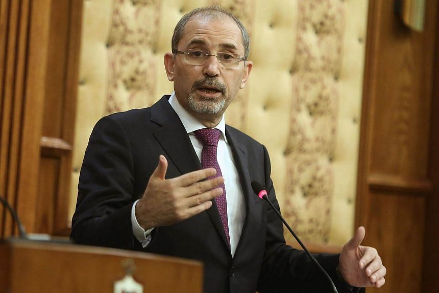 Jordan's Foreign Minister Ayman Safadi said Arab states will soon embark on a diplomatic drive to persuade the United Nations to recognise a Palestinian state.