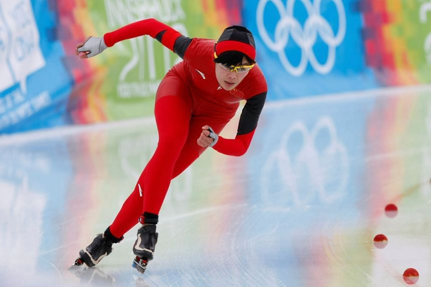 Chinese speed skater Shi Xiaoxuan has been banned from the national team for two years after testing positive for the banned substance clenbuterol on Dec 14.
