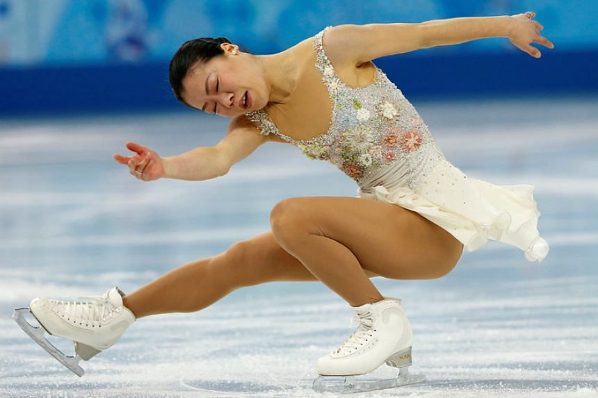 Japanese figure skater Akiko Suzuki, who was diagnosed with the eating disorder anorexia nervosa after losing 16kg in two months.