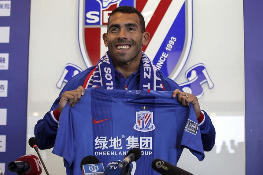 Carlos Tevez scored just four goals in the Chinese Super League and missed half the matches either through injury, or was simply out of form or out of shape.