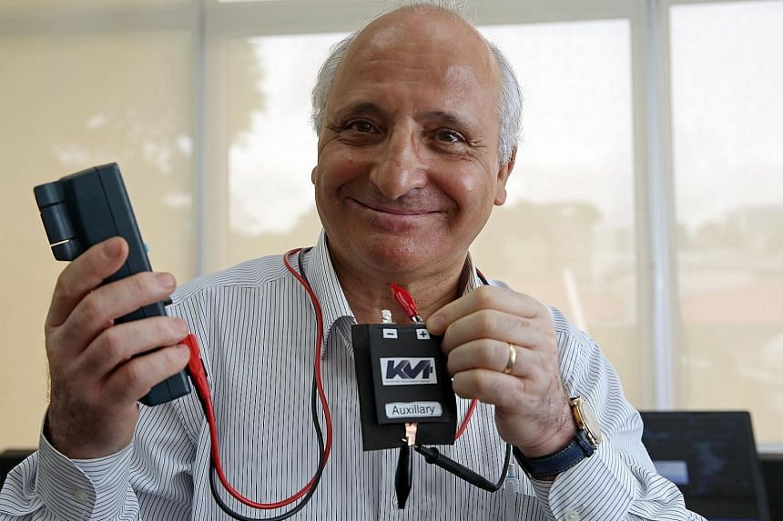 Professor Rachid Yazami says his invention is environmentally friendly as fewer batteries would need to be made and disposed of.