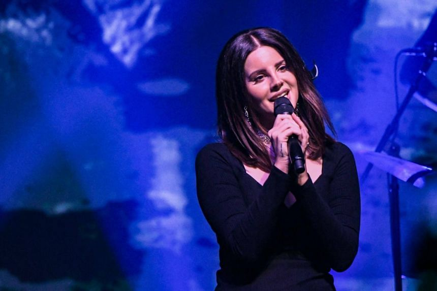 Singer Lana Del Rey during a performance at Terminal 5 in New York City on Oct 23, 2017.