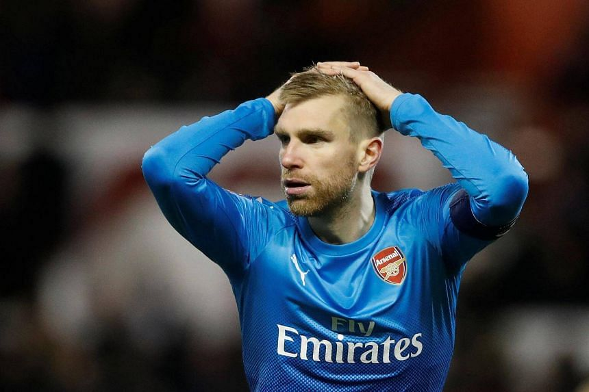 Arsenal defender Per Mertesacker said that his team was not up to standard for the majority of the game against Nottingham Forest.