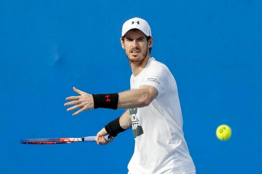 Andy Murray has not played competitively since being knocked out of the Wimbledon quarter-finals in July 2017.