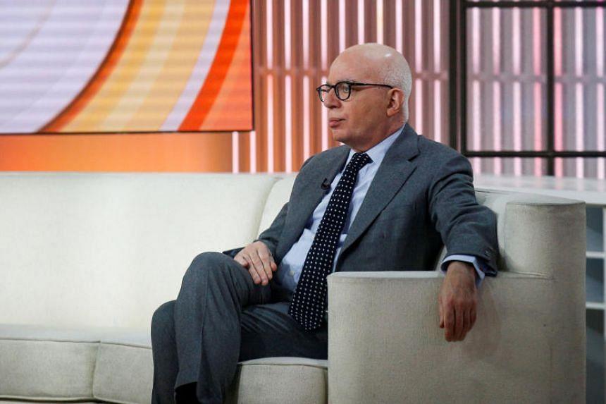 Author Michael Wolff is seen on the set of NBC's Today show prior to an interview about his book Fire and Fury: Inside the Trump White House in New York City, US on Jan 5, 2018.